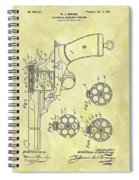 1901 Automatic Revolver Patent Spiral Notebook