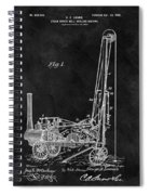 1902 Oil Well Patent Spiral Notebook