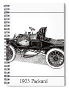 1903 Packard Spiral Notebook