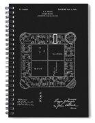 1904 Magie Landlords Board Game Spiral Notebook