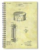 1905 Drum Patent Spiral Notebook