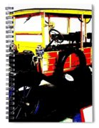 1912 Ford Model T Taxi Spiral Notebook