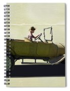 1918 Dodge Ww 1 Army Touring Vehicle Spiral Notebook