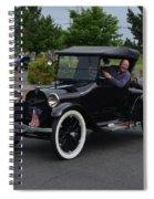 1922 Roadster Scharf Spiral Notebook