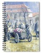 1922 Zbraslav Jiloviste Bugatti T13 Brescia Joan Halmovici Winner  Spiral Notebook