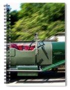 1926 Bentley Automobile Spiral Notebook