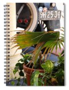 1926 Model T And Plants Spiral Notebook