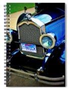 1927 Blue Buick Spiral Notebook
