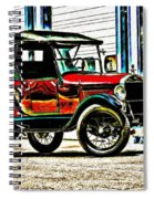 1927 Model T Ford Roadster Spiral Notebook