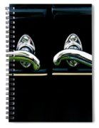 1927 Studebaker President Door Handles Painterly Spiral Notebook