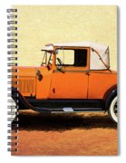 1928 Classic Ford Model A Roadster Spiral Notebook