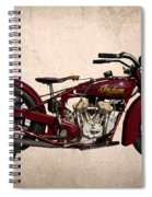 1928 Indian Motorcycle Spiral Notebook