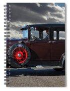 Classic 4 Door Ford Spiral Notebook