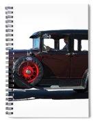Beautiful Ford Sedan Spiral Notebook