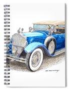 1929 Packard Dual Cowl Phaeton Spiral Notebook