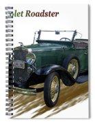 1931 Chevrolet Antique Roadster Spiral Notebook
