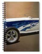 1931 Ford Convertible Hot Rod Spiral Notebook