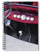 1931 Ford Dashboard Spiral Notebook