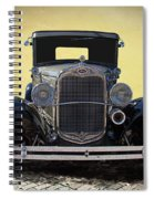 1931 Ford Model A Coupe Spiral Notebook