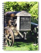 1931 Fordson Tractor Spiral Notebook