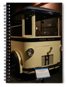 1931 Helms Bakery Truck Spiral Notebook