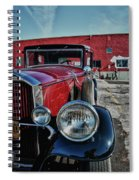 1931 Pierce Arow 3473 Spiral Notebook