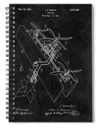 1931 Plane Patent Spiral Notebook