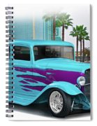 1932 Ford 'down Town' Coupe Spiral Notebook