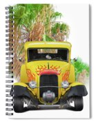 1932 Ford Five-window Coupe 'head On' I Spiral Notebook