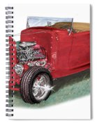 1932 Ford Hi-boy Hot Rod Spiral Notebook