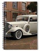 1933 Buick Victoria 'bootleg Beauty' Spiral Notebook