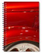 1933 Chevy Custom Roadster Spiral Notebook