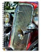 1934 Chevrolet Head Lights Spiral Notebook