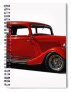 1934 Ford 2 Door Sedan Spiral Notebook