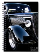 1934 Ford Coupe Spiral Notebook