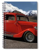 1934 Ford  Spiral Notebook