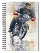 1934 Rudge Ulster Grand Prix Model  Spiral Notebook