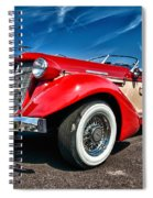 1935 Auburn Speedster 6895 Spiral Notebook