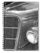 1935 Ford Sedan Grill Spiral Notebook