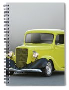 1935 Ford V8 Pickup Spiral Notebook
