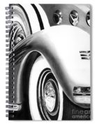 1935 Lasalle Abstract Spiral Notebook