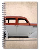 1935 Plymouth Spiral Notebook