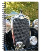 1935 Triumph Southern Cross Front Grill Spiral Notebook
