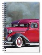 1936 Chevrolet Master Deluxe Sedan Spiral Notebook