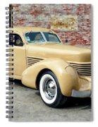 1936 Cord Spiral Notebook