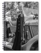 1936 Howe  Black And White Spiral Notebook
