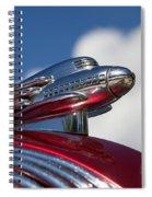 1936 Hupmobile Hood Ornament Spiral Notebook