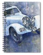 1937 Aero 750 Sport Coupe Spiral Notebook