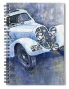 1937 Aero 750 Sport Coupe Spiral Notebook