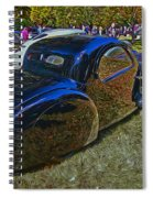 1937 Bugatti Type 57 S C Atalante Coupe Spiral Notebook